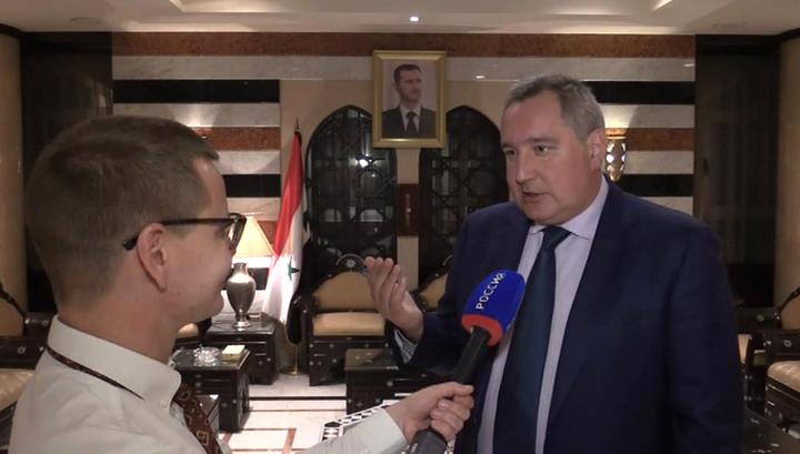 Российская делегация обсуждает в Дамаске проблемы восстановления Сирии