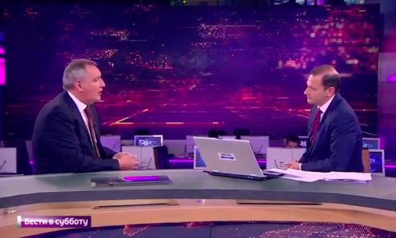 Дмитрий Рогозин в программе Сергея Брилева